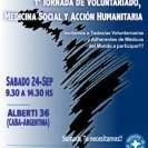 1° Jornada de Voluntariado, Medicina Social y Acción Humaniaria