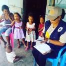 Visitas a las familias rurales para prevención y consejería sobre violencia basada en género y embarazo en adolescentes