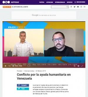 Entrevista de Telefe a Gonzalo Basile