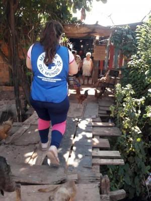 Atención a la covid-19 y al dengue en los barrios de Asunción